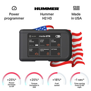 HUMMER H2 H3 tuning chip box power programmer performance tuner OBD2