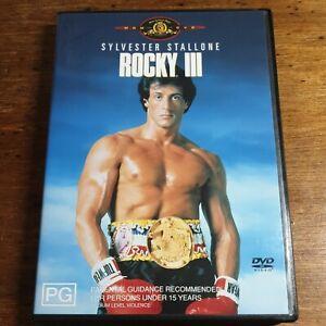 Rocky 3 III DVD R4 LIKE NEW FREE POST