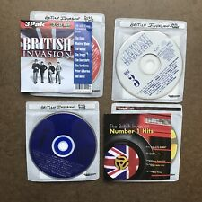 British Invasion 4 CD Lot -  36 All-Time Greatest Hits 1998 - Number 1 HIts
