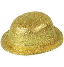 Bombetta Glitter Oro misura adulto