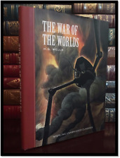 War of the Worlds by H.G. Wells Brand New Hardcover Unabridged Edition