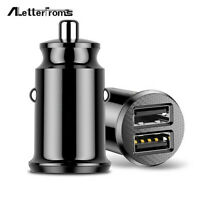 3.1A Mini Dual USB Smart Car Fast Charger Adapter For Mobile Phone Tablet GPS
