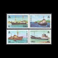 TUVALU, Sc #77-80, MNH, 1978, Ships, CL127F