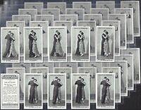 FRANKLYN DAVEY-FULL SET- MODERN DANCE STEPS (2ND SERIES 50 CARDS) - EXC+++