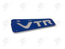 CITROEN Saxo VTR Azul insignias semicirculares de par de puerta única Resina De Poliuretano Premium