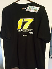 Matt Kenseth / Roush Fenway #17 Vintage Black - BRAND NEW - 2009 T Shirt XL XLG