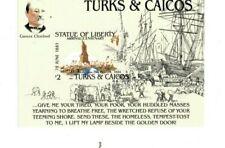 Turks and Caicos -1985 - Statue of Liberty Ann - Souvenir Sheet -Mnh(Scott#665)