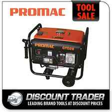 PROMAC 2.8KVA Pure Sine Wave RCD Weather Proof Outlets Torini 6.5HP Engine GT028
