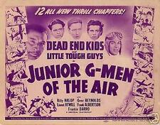 DEAD END KIDS JUNIOR G-MEN OF THE AIR 1942 DVDs FAST/SH
