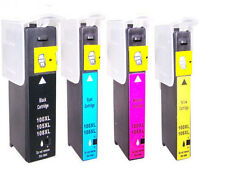 4 Non-OEM 100xl Lexmark Interact S605 Ink Cartridges
