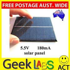 new 5.5V 180mA 1W Mini Solar Panel