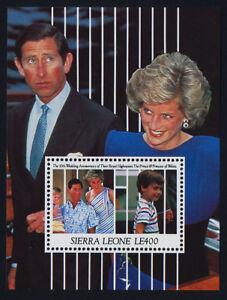 Sierra Leone 1396 MNH Prince Charles, Princess Diana