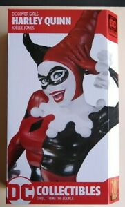 DC Collectibles Cover Girls Harley Quinn Statue Joelle Jones Sealed