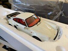 PORSCHE 911 930 TURBO S GRAND PRIX WHITE GT SPIRIT GT786 1/18 1978 RESINE 999 PC