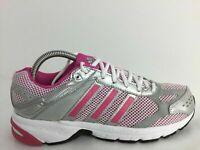 Adidas Duramo 4 Grey Textile Sports Run Trainers V21937 Women Size UK 6 Eur 39