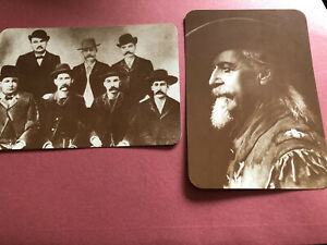 Old West Collectors Series Postcards Set Of 12 NEW