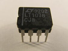 Lt1078cj8 LT Micropower, Dual, single supply, Precision op amp