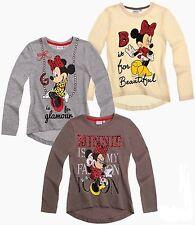 Abbigliamento Disney a manica lunga con girocollo per bambine dai 2 ai 16 anni