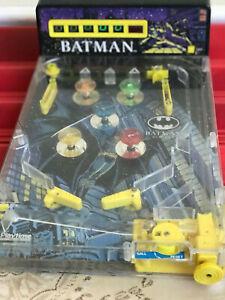BATMAN PORTABLE PIN BALL MACHINE VINTAGE 1992 RARE GREAT DECORATIVE PIECE!