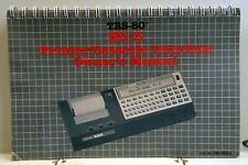 TANDY TRS-80 PC-3 Printer/Cassette Interface Owner's Manual (in good condition)