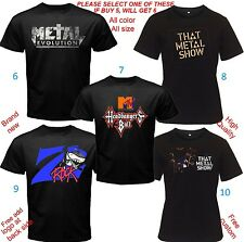 Metal Evolution Headbangers Ball That Metal Show Z Rock All size Adult Kids Baby