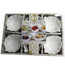 Tazón de cerámica cuadrada Snack Nibble Dip PLATO Tuercas 6 cm ~
