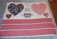 "Springs Industries Old Country Store ""Country Love"" Pillow/Ruffle Fabric - NEW"