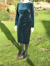 New MONSOON Teal Blue TYRA Occasion/Party Dress -Uk 14