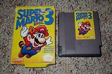 Super Mario Bros 3 (Nintendo Entertainment System NES 1990) w/ Box FAIR K L M N