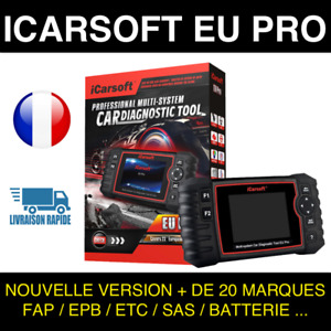 iCarsoft EU PRO - Outil Diagnostic Auto Professionnel similaire Delphi Autocom