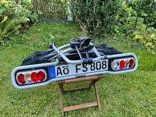 Thule Heckfahrradträger EuroWay 2 Fahrräder / klappbar - Fahrradträger Leuchten
