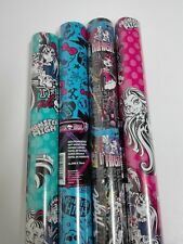 Lote Papel de Regalo MONSTER HIGH  (45 rollos) 300 x 70cm color variado. OFERTON