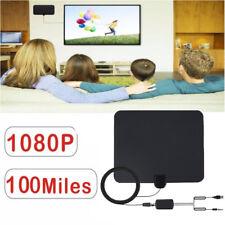 100 Meilen Indoor Digital HD TV Antenne Radius mit Signal Verstärker Booster