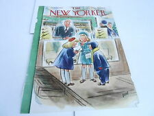 DEC 13 1952 NEW YORKER magazine cover only art print PIPE SHOP