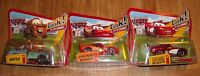 Lot of 3 Collectible Disney Pixar World of Cars MATER & LIGHTNING McQUEEN - Eyes