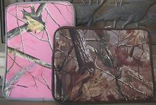 """Green or Pink Camo RealTree Laptop Sleeve - Fits up to 15.6"""" laptop computer"""