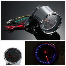DC12V 0-13000RPM Shift Meter Motorcycles ATVs LED Backlight Tachometer Universal