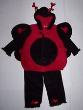 OLD NAVY 2 pc LADYBUG Lady Bug COSTUME 2T-3T 2 3 Halloween