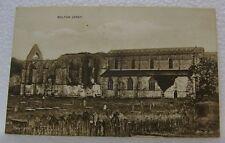 Vintage Old Bolton Abbey U.K. British England United Kingdom U.K. Pc Postcard