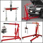 Heavy Duty Engine Hoist Leveler Cherry Picker Shop Crane Load Lift Tool 1500 Lbs