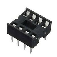 10pcs 8 Pin IC Socket DIL DIP PCB Mount Connectors ~NEW~