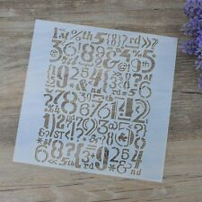 DIY Craft Shabby Chic Stencils For Walls Painting Scrapbooking Stamps Furniture