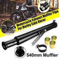 Universal Motorcycle Exhaust Muffler Pipe Reducer Cocktail Shaker Tulip
