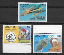 LESOTHO , 1993 , EARTH SUMMIT , SET OF 3 STAMPS  , PERF , MNH , CV$11,40