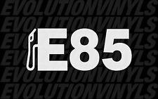 E85 V1 Sticker Decal JDM FCK racing ill drift fatlace illest turbo fuel vinyl