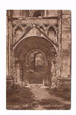 Somerset - Glastonbury Abbey, St. Joseph's Chapel - Vintage Postcard