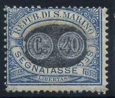 San Marino 1931 Sass. 41 MNH 40% Postage Due