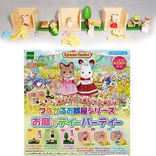 SYLVANIAN FAMILY Set 6 Trading Figures MINI DIORAMA Original EPOCH JAPAN Rare !!