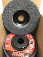 5 Super Fine Grey Surface Preparation Flap Disc 4 12x78 Keen Brite 55872