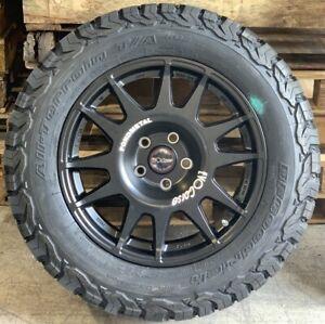 "EVO Corse DakarZero 18"" Land Rover Discovery 4 Alloy Wheels & BFG Tyres x4"